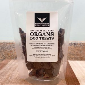 Grass Fed Beef Organs Dog Treats
